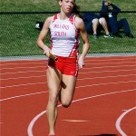 Morgan Woitzel Returns to Track in Time for District