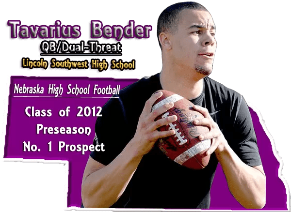 Tavarius Bender No. 1 Nebraska HS Football Prospect poster