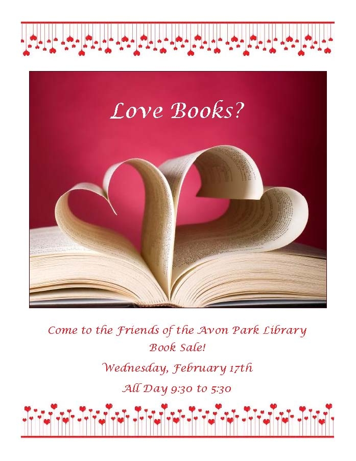 friends book sale feb16