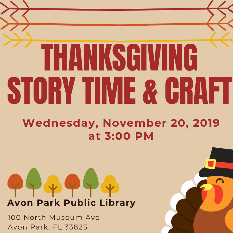 Thanksgiving Story time