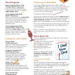 Okeechibee Library March 2020 newsletter