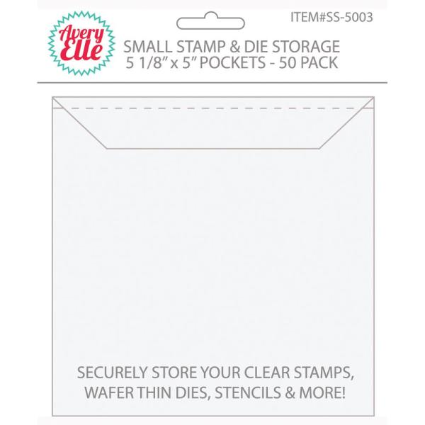 Avery Elle - Pocket - small stamp and die storage - my hobby my art -