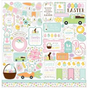 Welcome Easter Cardstock Stickers 12X12- my hobby my art - stickers cardstock 2