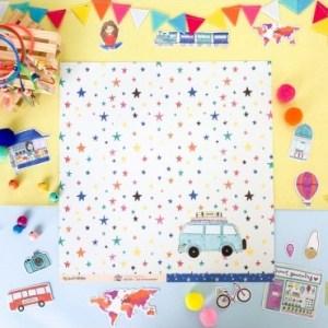 my hobby my art - piccolina-brava-culo-inquieto-tela para encuadernar - has visto las estrellas