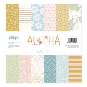 Aloha - Mintopia Studio - Basic Crea - My Hobby My Art - coleccion Aloha - basicos 12x12