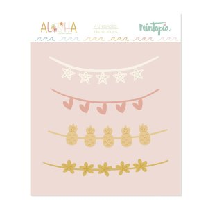 Aloha - Mintopia Studio - Basic Crea - My Hobby My Art - coleccion Aloha - troquel banners