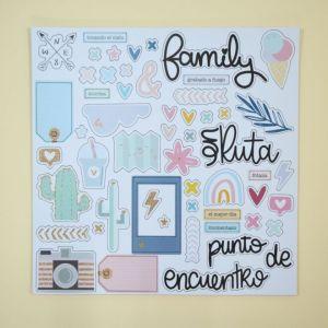 Dunaon - En Ruta - My Hobby My Art -chipboard - stickers