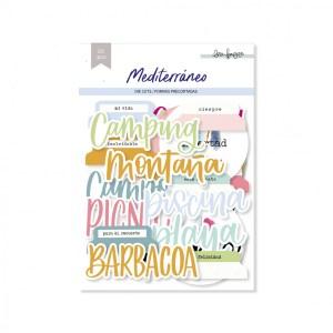 lora bailora - my hobby my art - mediterrano - die cuts - formas precortadas