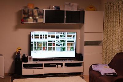 キッチン テレビ
