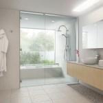 浴室ガラスドアセット