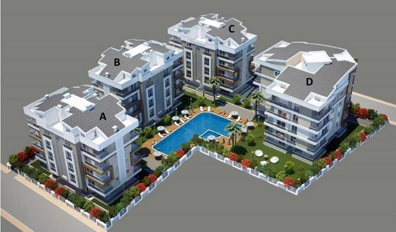 Комплекс Orion Residence (Орион Резиденс) Коньяалты Анталия Турция