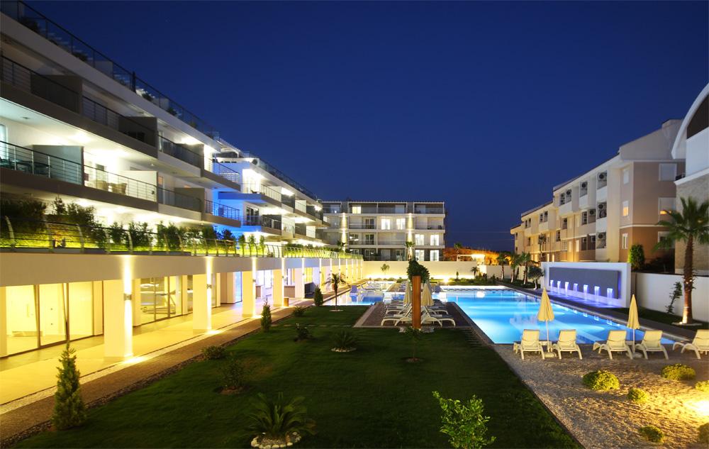 Nympheum продажа апартаментов в Сиде (Турция)