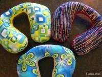 Kids travel neck pillows | Home Baked