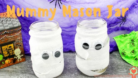Mummy Mason Jar by My Home Based Life