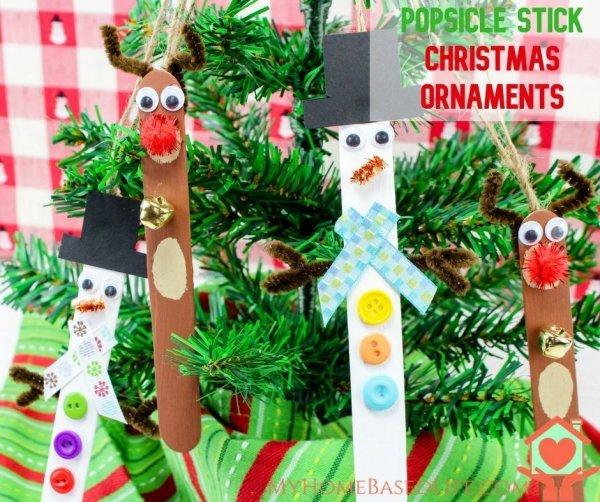 christmas ornaments popsicle sticks # 16