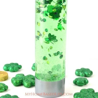 St. Patrick's Day Calming Bottle for Kids