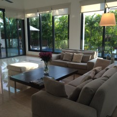 Tropical Living Room In Malaysia Red Curtains For Modern House My Home Boutique Architecture