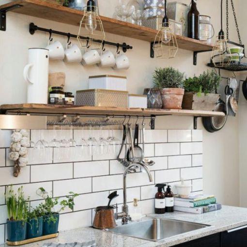 étagère rangement cuisine inspiration