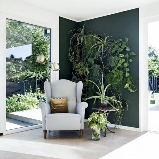décoration intérieur vert