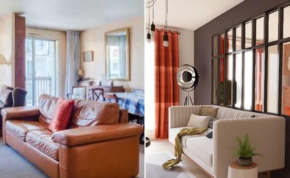 Inspiration décoration d'intérieur avant après