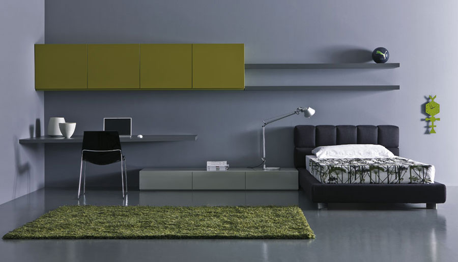 Dark Grey Teen Bedroom Design My Home Deco Mag