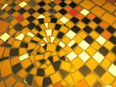 border mosaic tile
