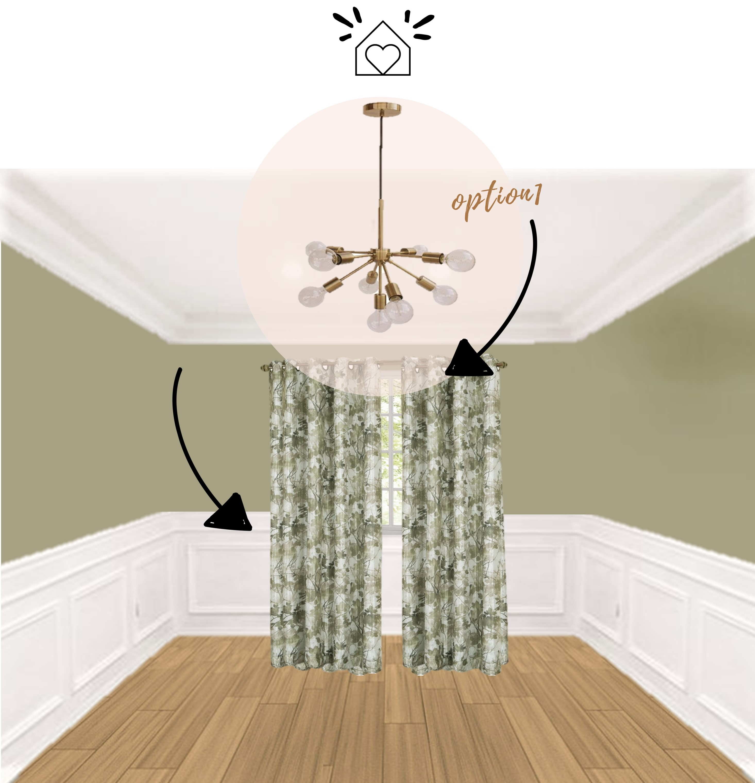 Tropical Vibes Vs Cool Green A Living Room Design Plan Decision Indigo