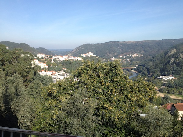 A town in Serra do Acor