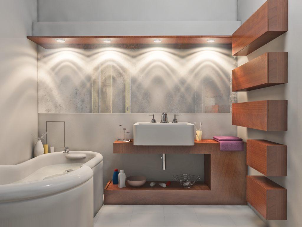 Unique Bathroom Vanities  For Small Spaces Lights Ideas