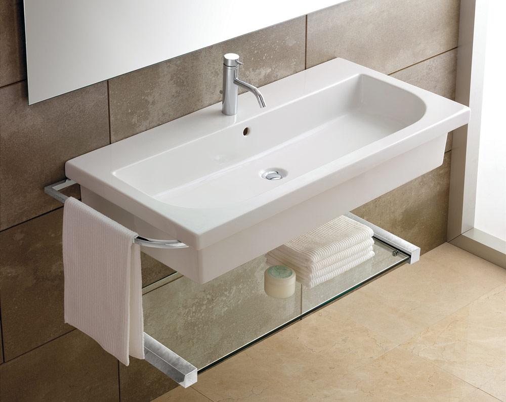 buying wall mounted bathroom sinks