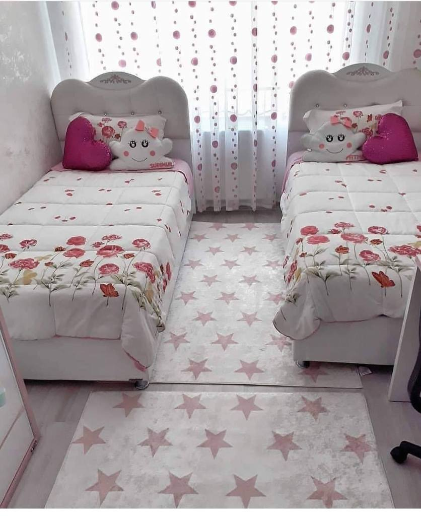 Two beds room for small girls