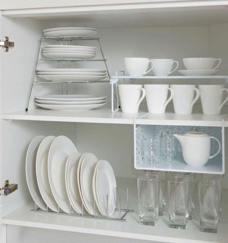 Kitchen rack space saving example