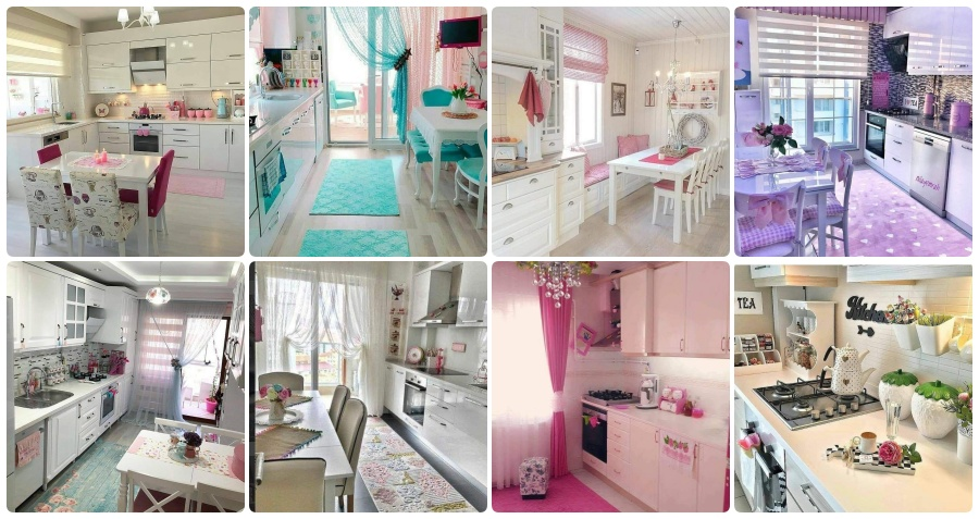 List Of 40 Beautiful Kitchen Design Examples With Spring Colors