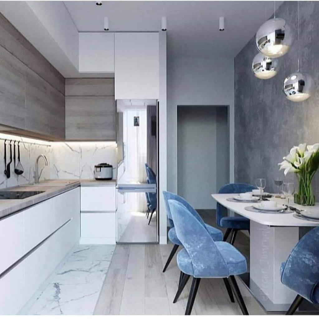 Modern interior kitchen design ide