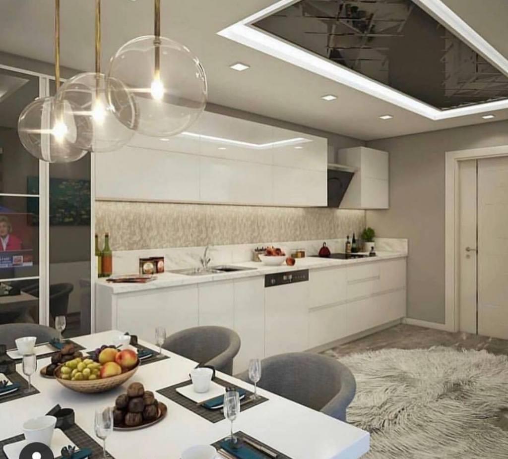 Small modern kitchen design