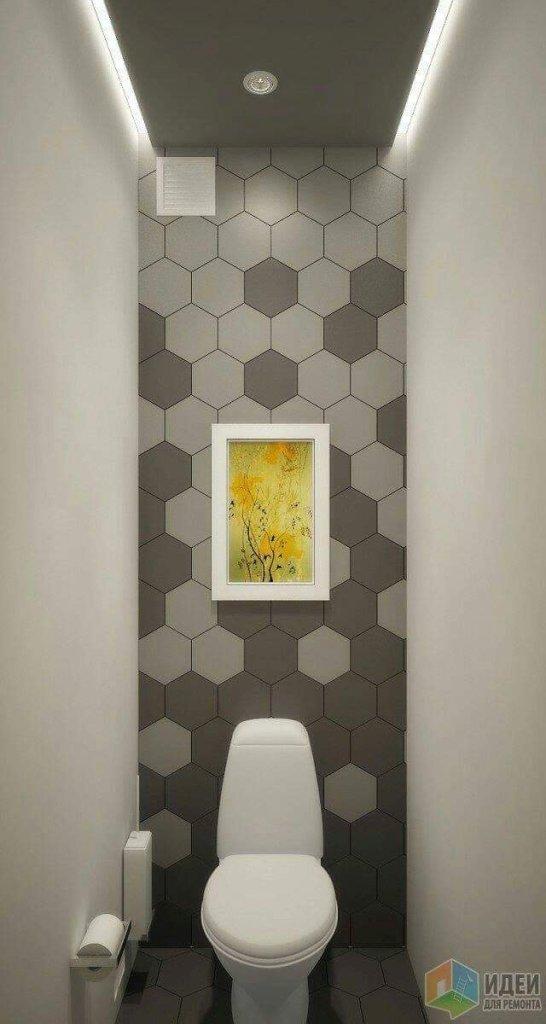 Modern bathroom design concept