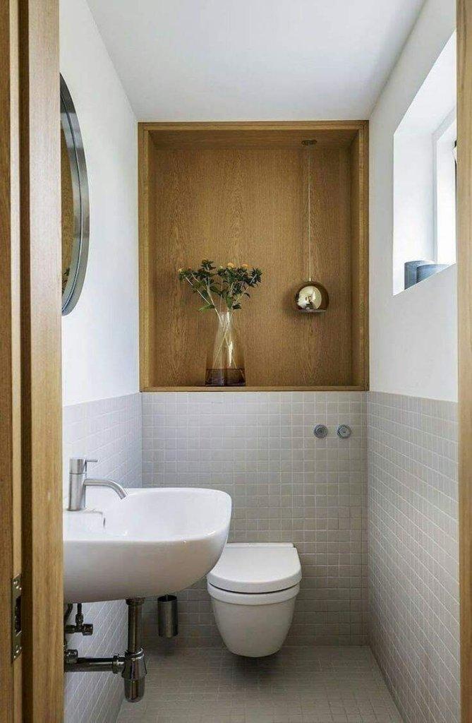 Small toilet interior design