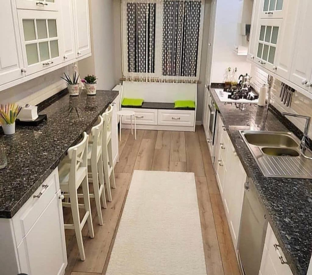 Beautiful kitchen for small families