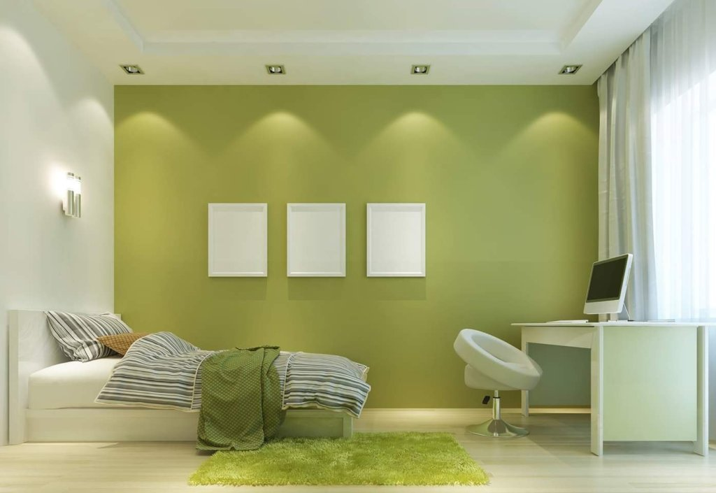 Green interior design idea