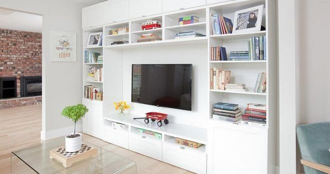 +36 Top Guide of IKEA DIY Built in Hack Using IKEA Cabinets and Shelves