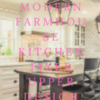 Top 12 Modern Farmhouse Kitchen Fixer Upper Design Ideas