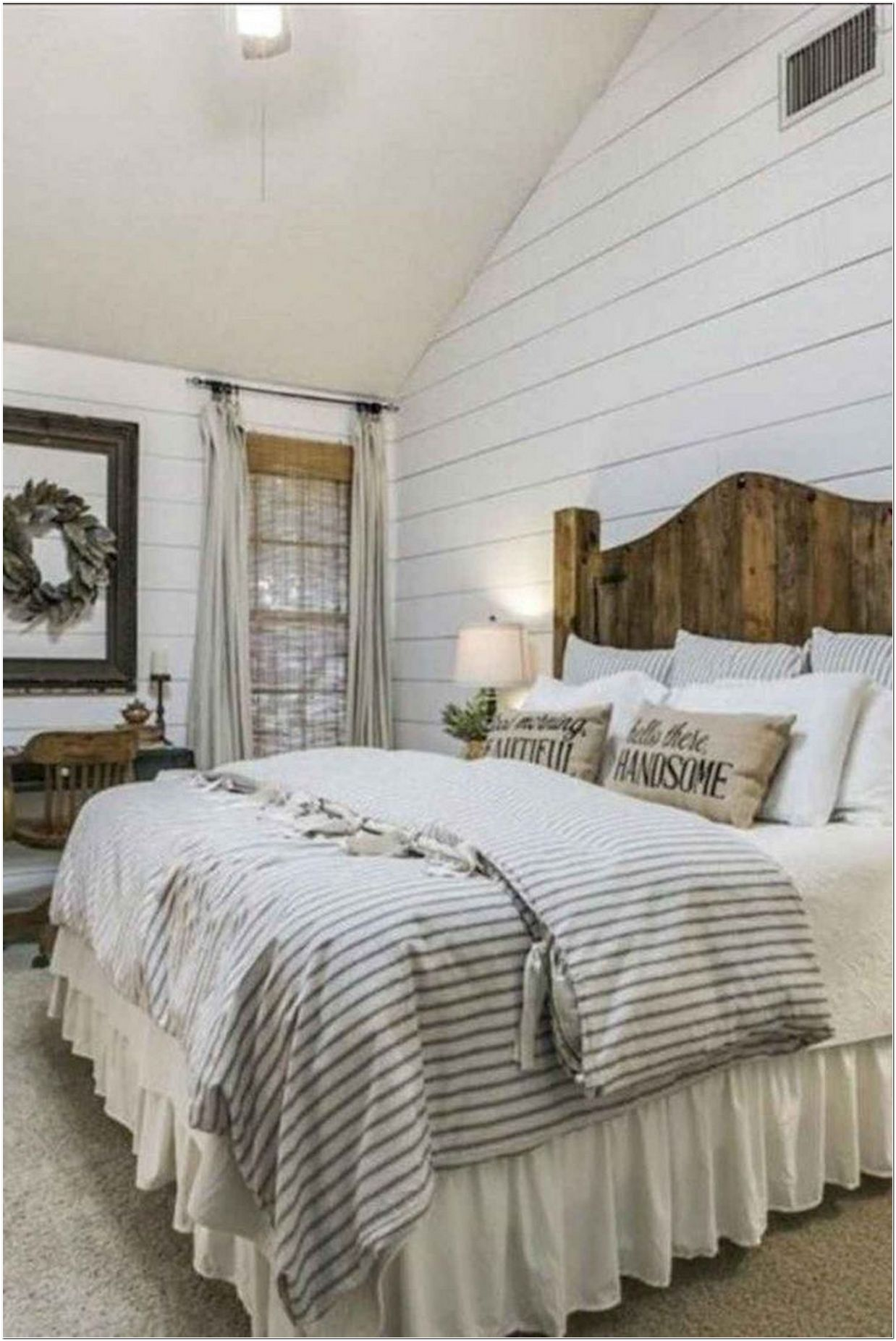 68 Farmhouse Bedding Bedding And Furniture For Your Guest Bedroom Ideas Myhomeorganic
