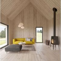 72 Architecture Design - Minimal Wooden House Filled With Natural Sunlight
