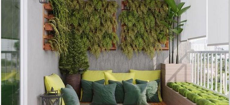 77 Garden Ideas for Small Patio Or Balcony Decor