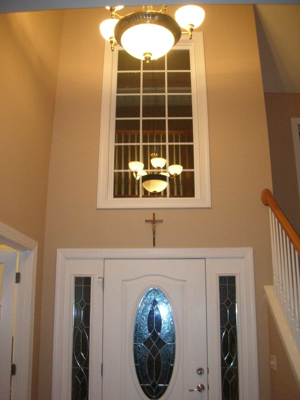 My Home Redux TwoStory Foyer Window  What to do about