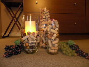 My Home Redux Decorating with Wine Corks