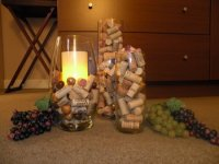 My Home Redux: Decorating with Wine Corks