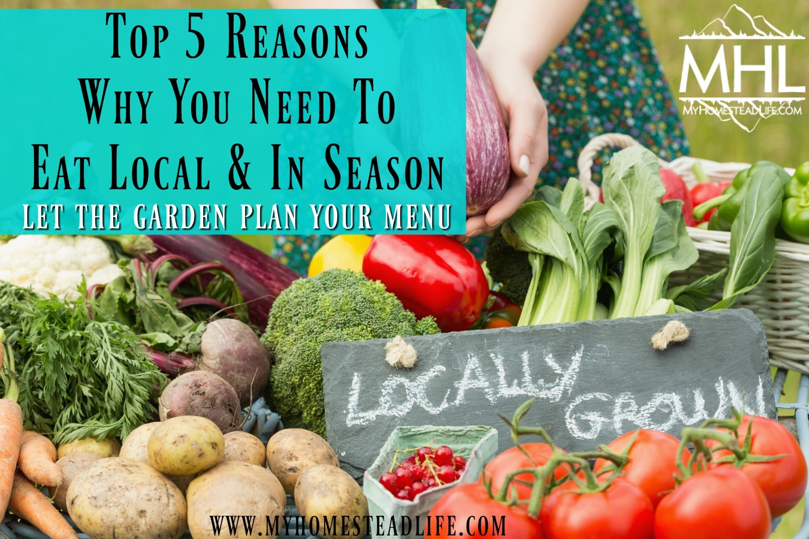Top 5 Reasons Why You Need To Eat Local & In Season. Let the garden plan your menu