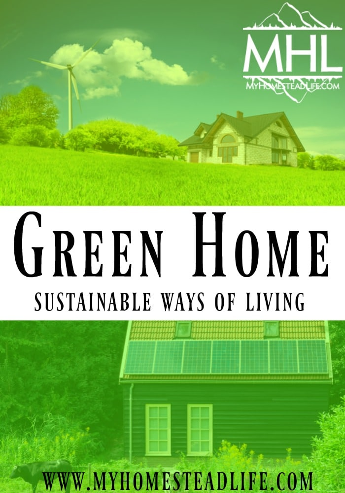 how to live more green