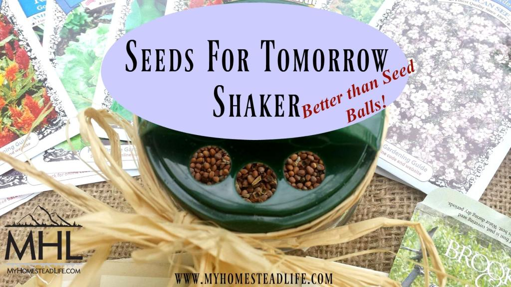 Seeds for Tomorrow Shaker- Better Than Seed Balls